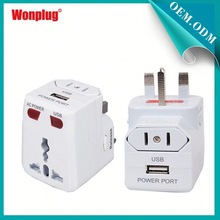 2015 Hot selling superior function global travel adapter