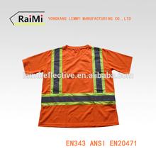 high visibility reflective security polo shirt
