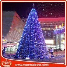 Shopping mall christmas tree dog toy