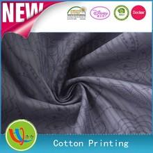 china proveedor de algodón de impresión de tela cómoda para la ropa las mujeres