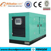 CE approved soundproof electric diesel generator 100kva