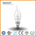 4w 5w led candle bulb e27 b15 b22 e14 led indoor light led bulbs with CE TUV