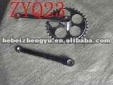 3 piece bike crank