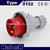 400v 16a industrial plug 0152 3P+N+E IP67