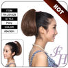 2014 newest style cheap curly ponytail ,natural look human hair ponytail extension