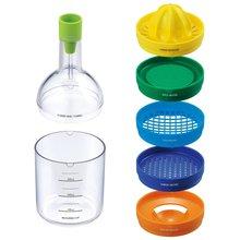 F1713 Plastic bin 8 kitchen tool like bottle,kitchen tool seen on TV