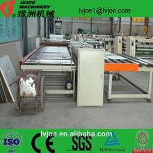 Glue coating gypsum ceiling board lamination machine/production line