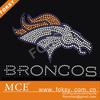 custom clothing NFL Denver Broncos rhinestone transfer