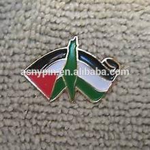 stine Scroll Map Of Homeland & Flag Pin Palestinian Islam Arab