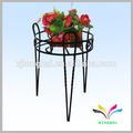 giardino metallo stand di ferro battuto per pot di fiore di visualizzazione rack