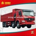 Sinotruck howo 8x4 aceite de camión de volteo/camión camión
