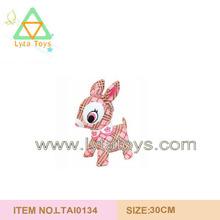 Lovely Pink Child Plush Animal Toys Stuffed Deer