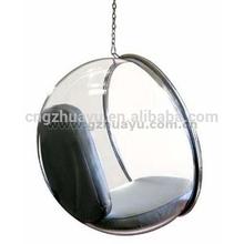 indoor hanging chair acrylic hanging bubble chair designed by Eero Aarnio