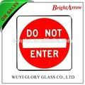 Personalizado de alta visibilidade reflexiva marinha sinal de segurança