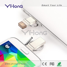 2014 new products for otg android mobile phone, metal usb 3.0 64 gb usb flash drive