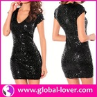 Hot style party stone work in dress