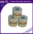 Papel Higiénico Reciclado, Blanco, 2 capas, 4,4 x 3,75 Hoja, 500 Hojas Cada Rollo
