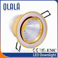 70-90lm/W COB LED Downlight - Original SHARP,CITIZEN,BRIDGELUX led,RA82/91/97 3w indoor led downlighting