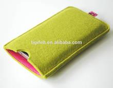 Felt mobile phone bag, felt cell phone bag, felt phone case