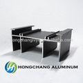 Revêtement en poudre profils en aluminium industriels alliage d'aluminium 6060 t6