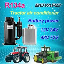 Lanhai 12V BLDC compressor for air conditioner electric car ac compressor