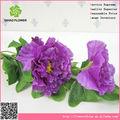 Maquillaje de seda flores atractivas flor artificial flor del hibisco con fruta para el regalo