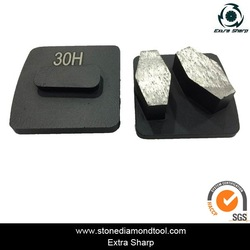 Metal Diamond Concrete Floor Grinding Block for Epoxy and Glue