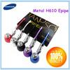 Hot sale slim electric smoking water vapor pipes , 618 E-pipe Mod. Alibaba China E Pipe E Cigarette PIPE h610