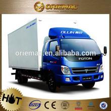 FOTON Ollin container 5 ton vans
