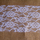 100% Linen Hessian Jute Cloth Jute Bag Fabric Bonded Lace