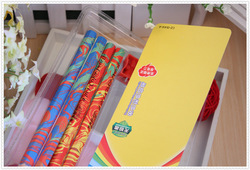 Multi colour Coarse rod pencil Suction card packing hexagonal pencil