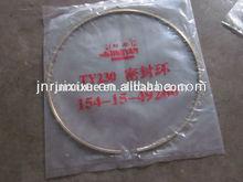 shantui bulldozer seal ring 154-15-49260 ty220 dozer parts coppering