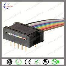 OEM new design crimp type idc 30 pin connector
