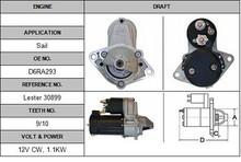 30899 starter Valeo car starter motor for Sail OEM:D6RA293