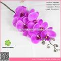 9 cabeças de plástico de alta qualidade artificial orquídea borboleta/japonês artificial orquídea borboleta