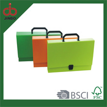 Law price factory hanging Neon Paper File box with handle
