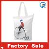 Custom plain cotton carrier bag for shopping