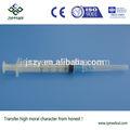 estéril seringa hipodérmica 2cc