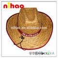 stilvolle cowboy strohhut
