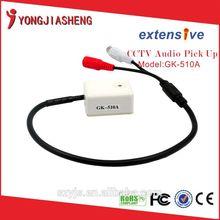 wholesale low noise mini cctv sound microphone