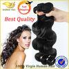 2014 top selling 7a body wave unprocessed human peruvian virgin hair