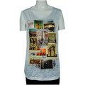Venta al por mayor 2014 camisas de t, camiseta sin mangas de la camisa de alta calidad para la señora
