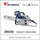 ZOMAX ZM5200 gasoline chain saw gas petrol diesel engine