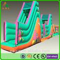 Imperméables verts sûrs commerciaux. aire de jeux gonflables parcours d'obstacles pour la vente