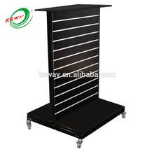 slatwall display shelf