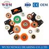 High quality plastic bearing plastic ball bearing plastic coated bearing