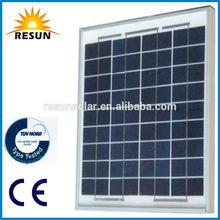 hot sale high efficiency 25w poly solar panel