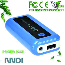 rechargeable external battery charger mobile phone for laptop emergency battery charger