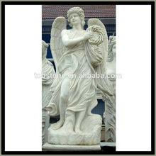 female angel marble statue