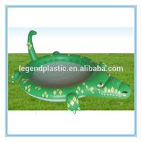 Inflatable crocodile pool float, crocodile spray swim pool